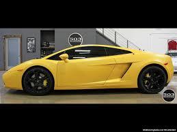 Lamborghini Gallardo Black - 2004 lamborghini gallardo yellow black 6 speed manual w 21k miles