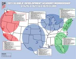 Fc Dallas Stadium Map by Girls Development Academy Program La Galaxy San Diego Mls