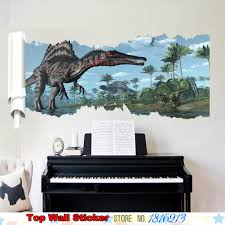 Bedroom Jungle Wall Stickers Dinosaur Wall Stickers Promotion Shop For Promotional Dinosaur