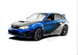 subaru because subaru pinterest subaru jdm and cars subaru impreza wrx sti fast furious 7 car drawing by maxbechtold