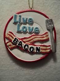 ebay ksa ksa resin bacon ornament live love bacon new whimsical