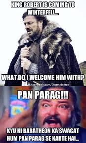 Hindi Meme Jokes - game of thrones bollywood memes trolls filmibeat