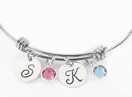 s bracelet grandmother sted birthstone charm bracelet with