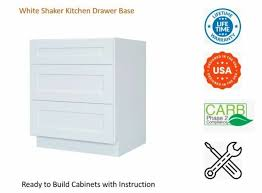 white shaker kitchen base cabinets white shaker kitchen drawer base cabinet