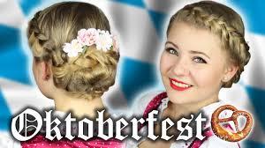 Oktoberfest Frisuren Lange Haare Einfach by Oktoberfest Frisur Einfach Geflochten Wiesn