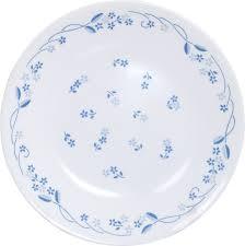 Buy Corelle Dinner Set Online India Corelle Livingware Provincial Blue 6 Pcs Small Plate Set Price In