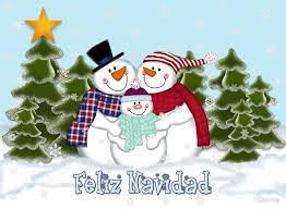 feliz navidad christmas card snowman family feliz navidad christmas card by lallinda redbubble