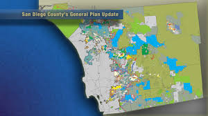 San Diego City Map by Much At Stake In San Diego County U0027s General Plan Update Kpbs