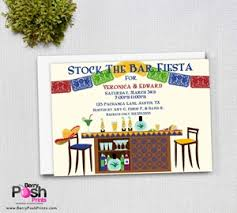 stock the bar invitations stock the bar couples shower invitation