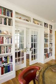 Bookshelves Around Window Slivers Of Space Storage Bedroom Windows Small Spaces And Window