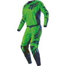 motocross gear combo fox racing 2016 youth 180 race jersey and pant package flo green