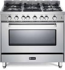 verona appliances dealers verona range 100 kitchen range verona vefsgg365nss 36 inch pro style gas range with turbo electric