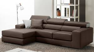canapé marron cuir canape convertible marron awesome canap convertible places en
