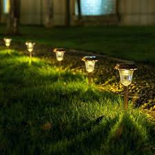 solar path lights reviews yard solar lighting landscape lighting ideas westinghouse solar