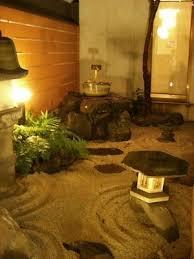 japanese zen garden at tour club kyoto hostel accommodation