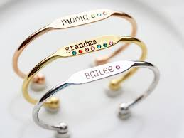 mothers day birthstone bracelet s day personalized gift personalized gift for