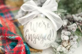 ornaments engaged ornament we re engaged or