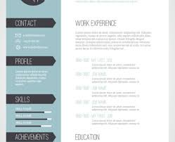resume unique resume templates modern u201a frightening cool resume