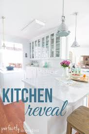 kitchen reveal perfectly imperfect blog