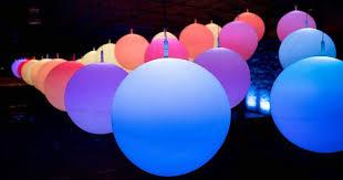 led illuminating installations interactives sculptural and