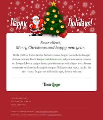 holiday christmas landing page u0026 email newsletter templates