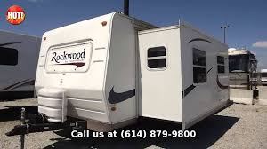 Rockwood Trailers Floor Plans 2005 Forest River Rockwood 8315ss Travel Trailer Front Kitchen