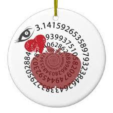 i math ornaments keepsake ornaments zazzle