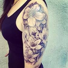 10 best flower tattoos for your arms half sleeves half sleeve