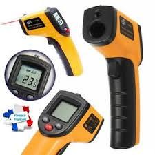 thermometre cuisine laser thermometre infrarouge laser digital sans contact de surface