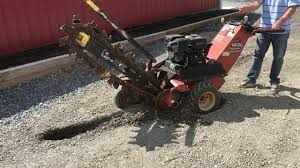 ditch witch 1230 trencher youtube