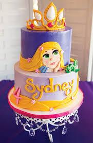 tangled birthday cake beautiful bright cheery tangled birthday party hostess with