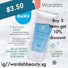 Pembersih Muka Wardah Lightening wardah lightening foam wash health skin bath