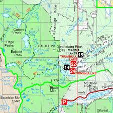 Sparks Nevada Map Humboldt Toiyabe National Forests Bridgeport Ranger District West