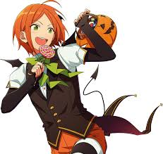 halloween png images image hinata aoi halloween dialogue render png yandere