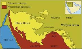 tabuk map paleozoic tectono stratigraphic framework of the arabian peninsula