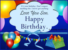 Happy 39th Birthday Wishes Birthday Wishes For Son Wordings And Messages