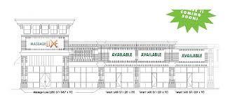 Retail Space Floor Plan New Retail Space Coming To Volvo Parkway Shopping Center In