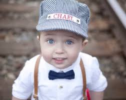 Etsy Baby Boy Halloween Costumes Train Conductor Hat Etsy