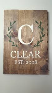 family wood sign home decor best 25 family name signs ideas on pinterest name pallet sign