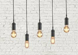 Vintage Light Bulb Pendant Industrial Hanging Lights Photogiraffe Me