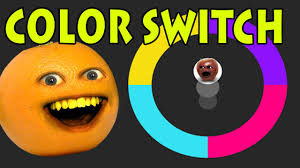 Orange Color by Annoying Orange Plays Color Switch Youtube