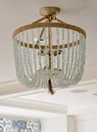 Beach House Light Fixtures by 105 Best Sea Glass Lighting Images On Pinterest Glass Pendants