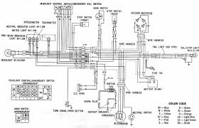 honda xl100 motorcycle complete wiring diagram all about wiring