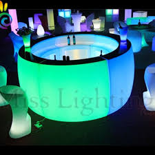 led shinning bar table mi fu rb2 led bar table led furniture