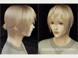 the sims 4 cc hair ponytail spring4sims male ponytail hair for the sims 4