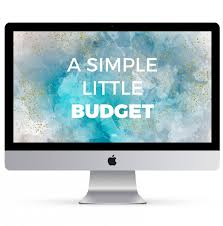 Imac Spreadsheet A Simple Budget The Spreadsheet Alchemist
