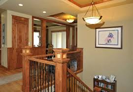 craftsman homes interiors castle rock craftsman home craftsman staircase denver by