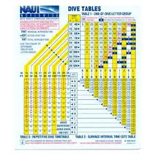 Padi Dive Tables by Books Videos And Cds Gear Review