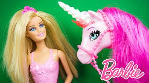 barbie princess doll regal unicorn toy dolls playset