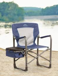 Quest Directors Chair Side Table 1 000 Lb Capacity Heavy Duty Portable Chair